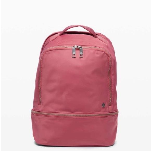 Lululemon City Adventurer Backpack 17L Cherry Tint